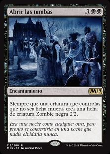 Abrir las tumbas - Open the Graves (Foil)